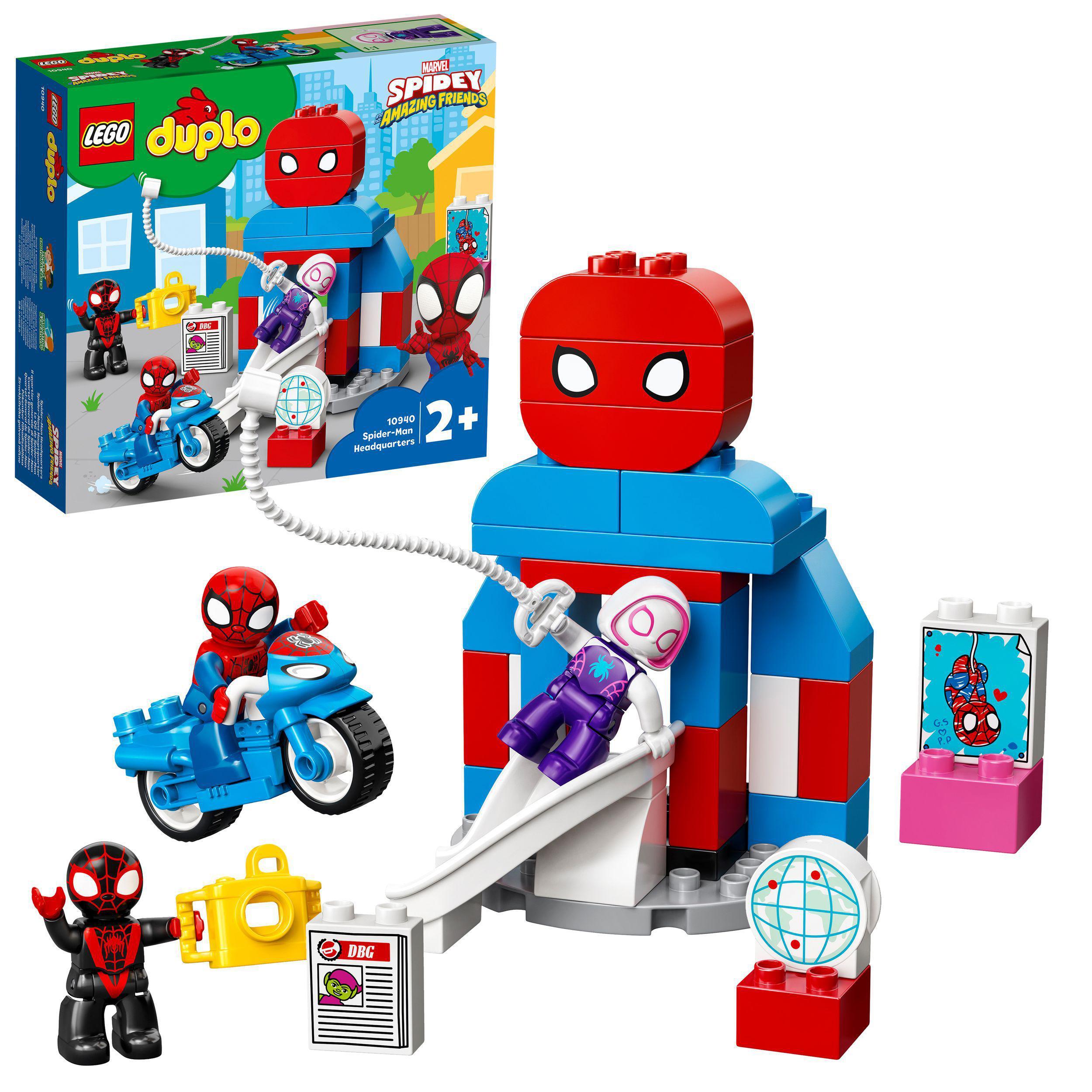 LEGO DUPLO - Spider-Man Headquarters (10940)