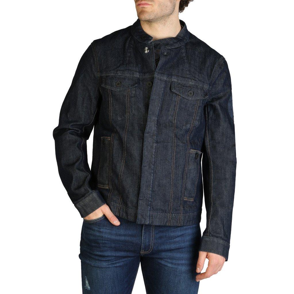Armani Exchange Men's Jacket Blue 3ZZB61_Z1E4Z - blue S