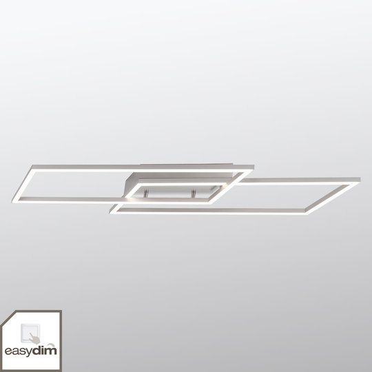 Kaksilamppuinen LED-kattovalaisin Inigo, 83,6 cm