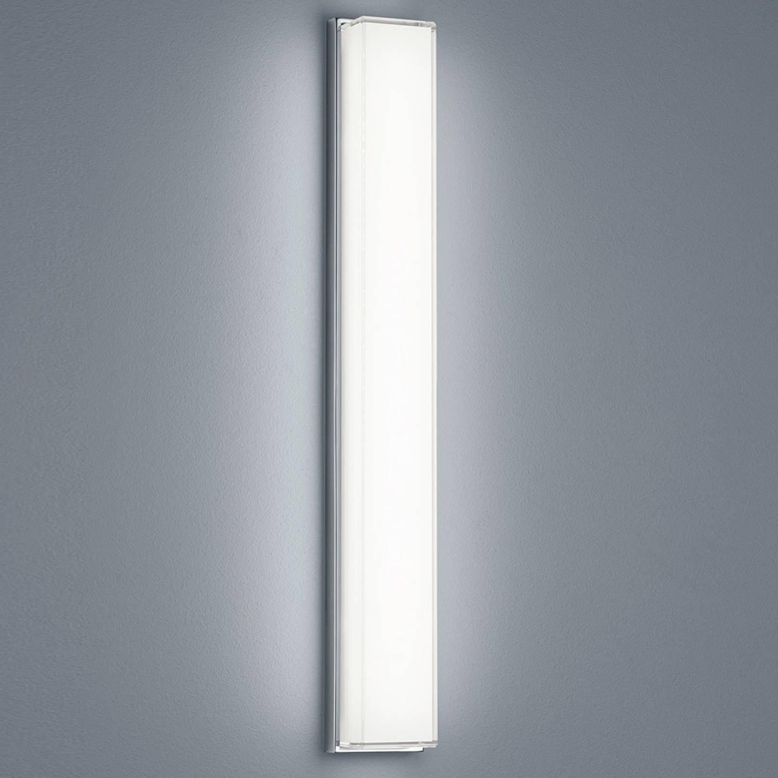 Helestra Cosi LED-vegglampe, krom, høyde 61 cm