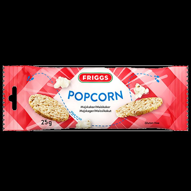 Snackpack Majskakor Popcorn - 20% rabatt