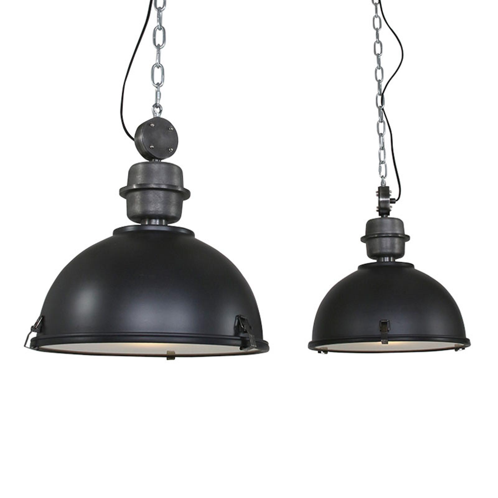 Riippuvalaisin Bikkel 2-lamppuinen, musta