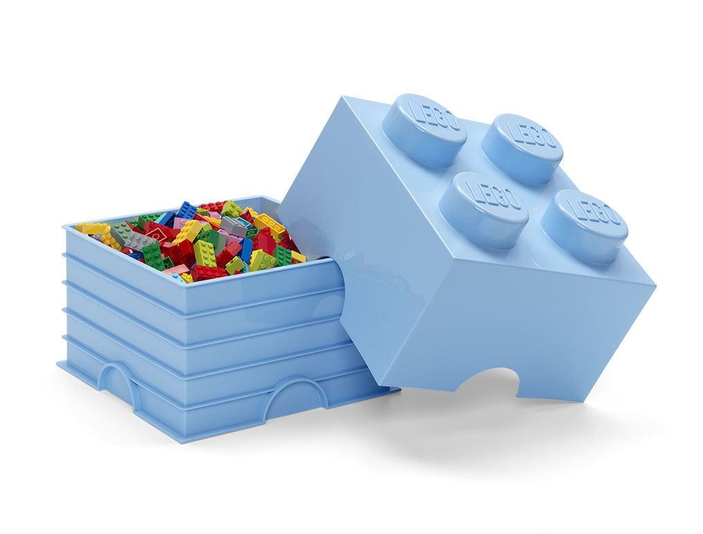 LEGO Säilytyslaatikko 4, Vaaleansininen