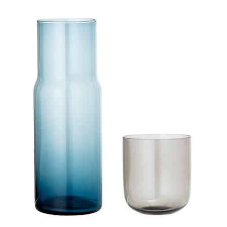 Decanter & Glas Multi-color Glass