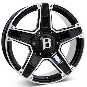 Ballistic Dakota Black Polished 9x20 5/127 ET50 B71.5