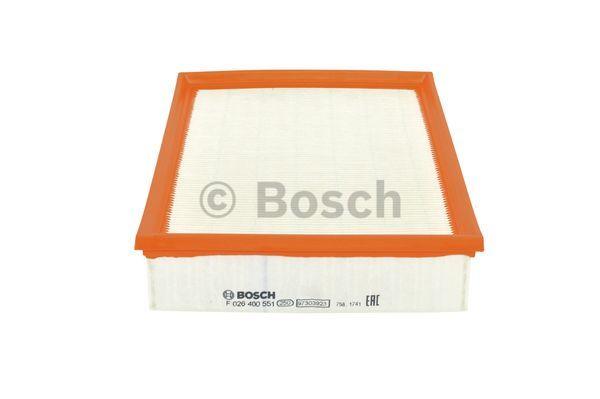Ilmansuodatin BOSCH F 026 400 551