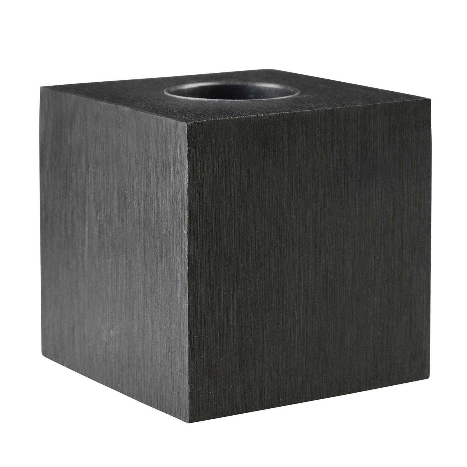 Bordlampe Cubic, svart