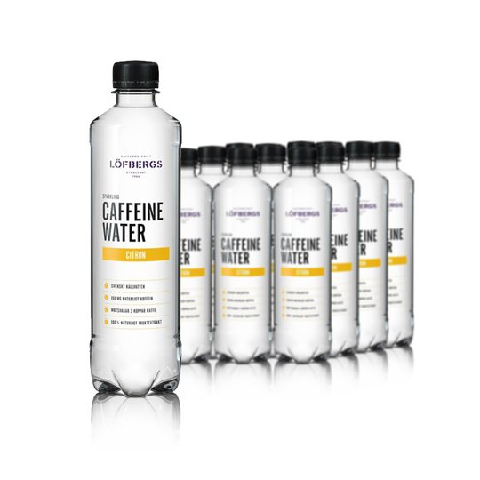 Hel Låda Koffeinvatten Citron 12-pack - 60% rabatt