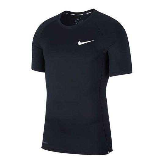 Nike Pro Comp Top S/S, Black