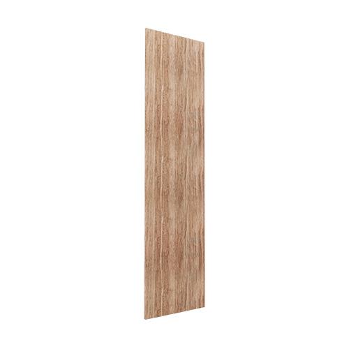 Gavlside Atlanta garderobe 236 cm, Lys rustikk eik