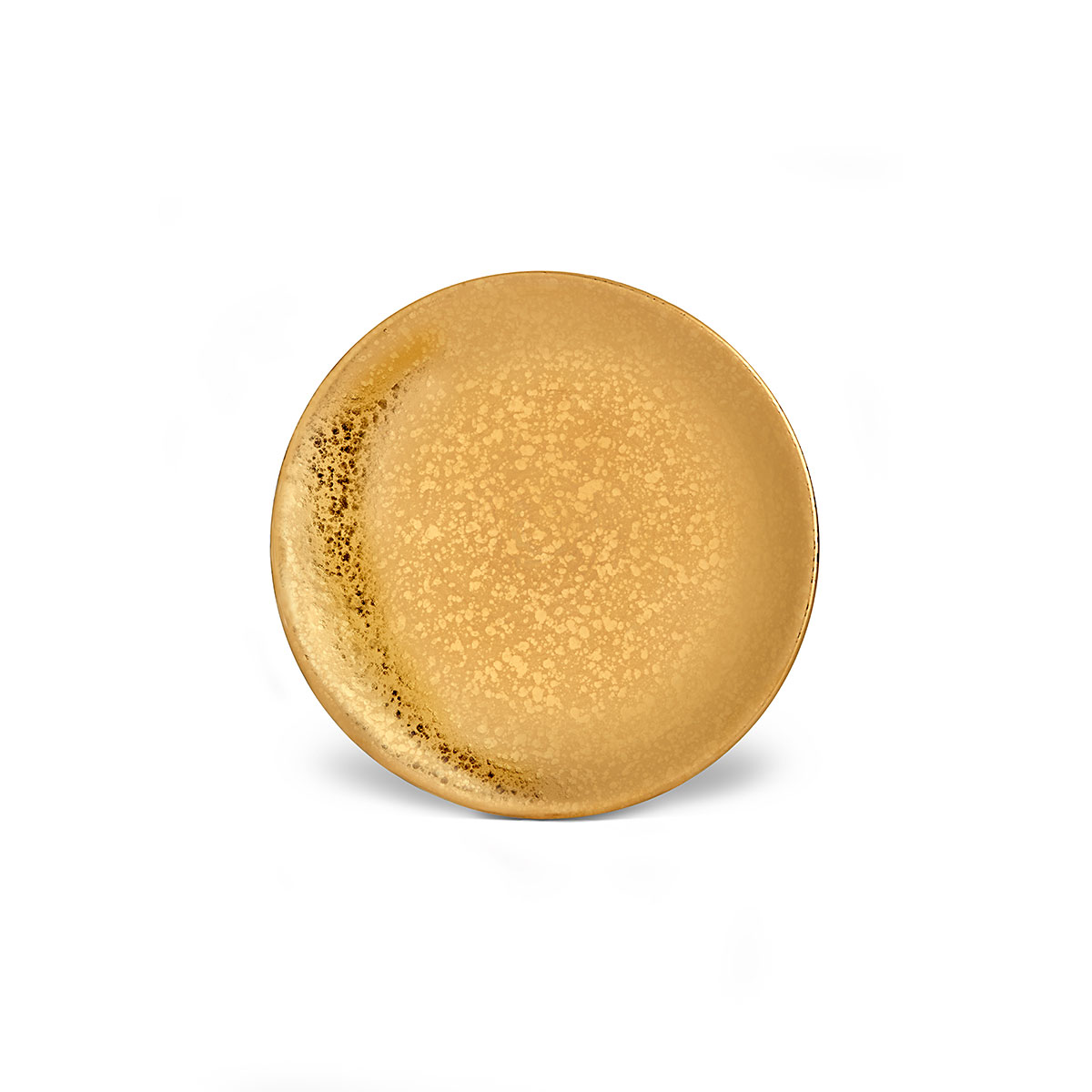 L'Objet I Alchimie Bread + Butter Plate Gold