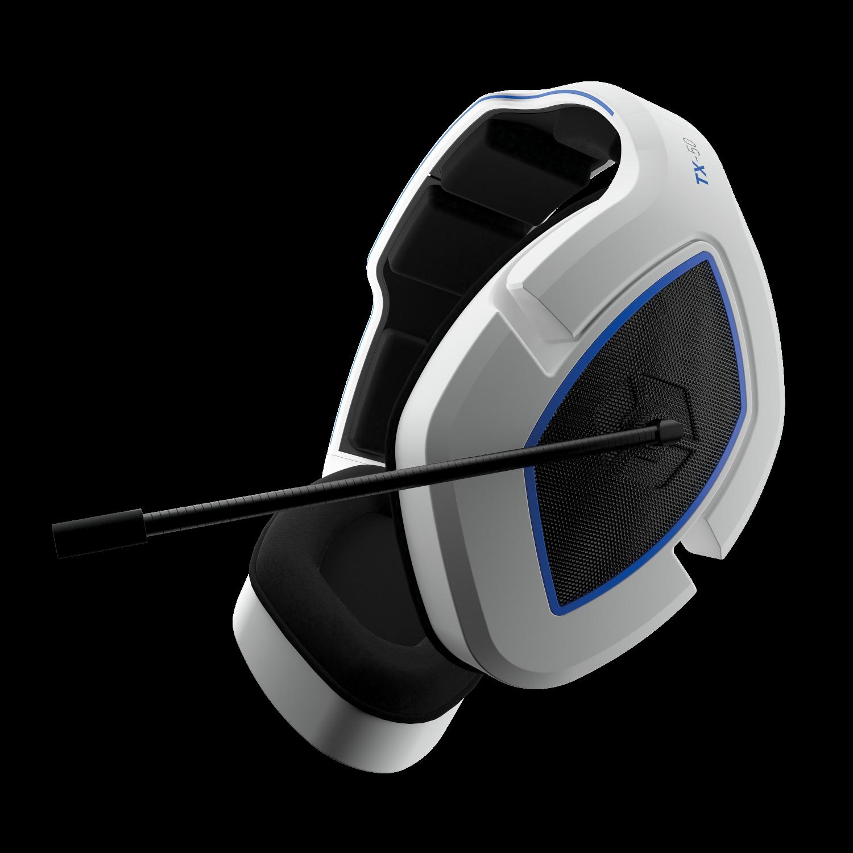TX-50 Wireless RF Stereo Gaming Headset (White/Blue) (Uni)