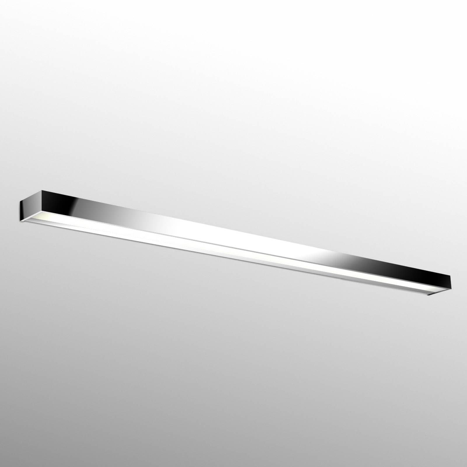 Utmerket LED-vegglampe Apolo, 150 cm krom