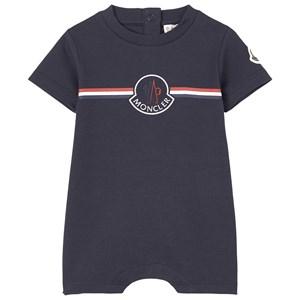 Moncler Black Branded Romper Marinblå 3-6 mån