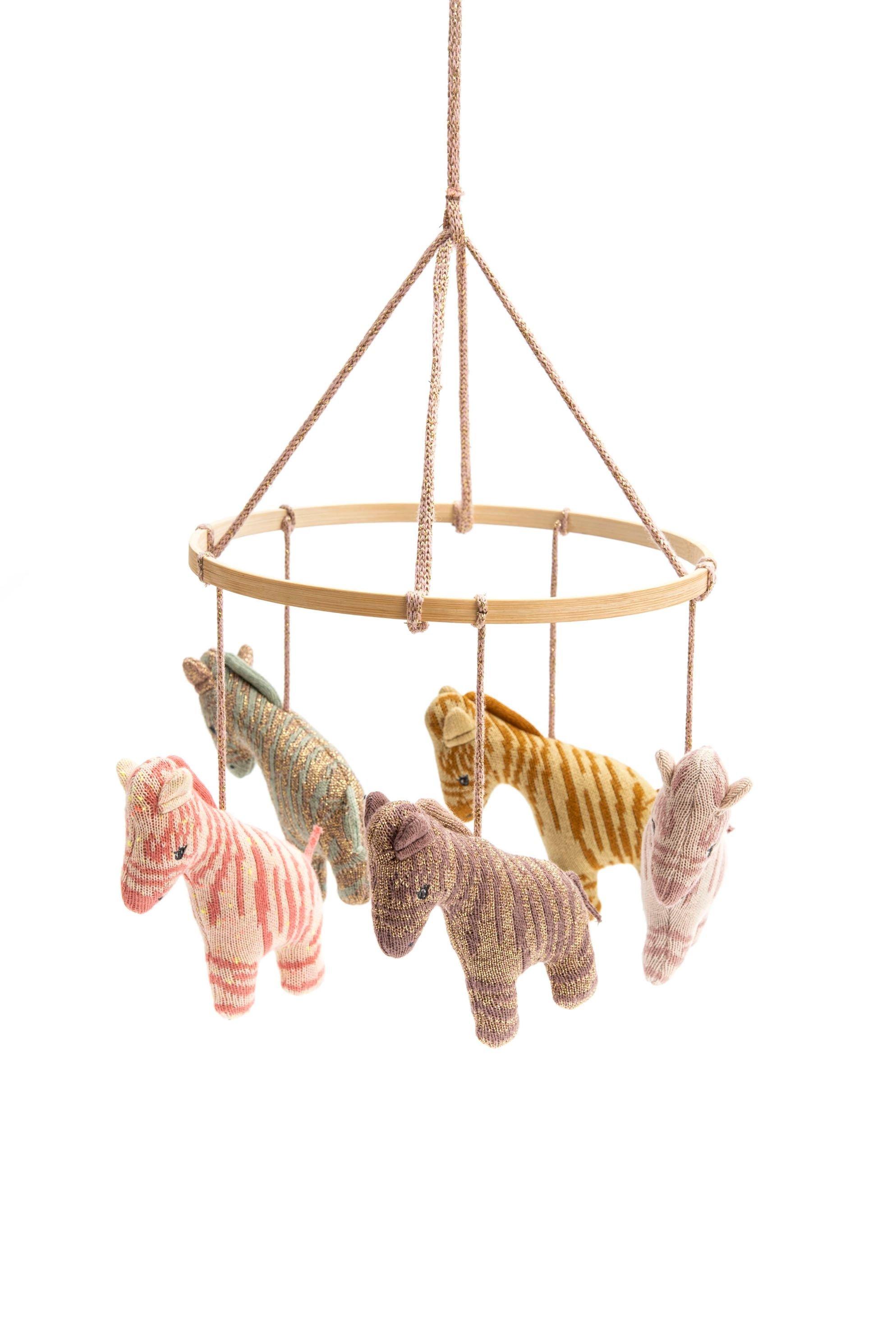 Smallstuff - Hanging Mobile - Multi Zebra
