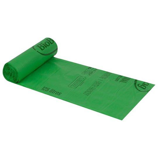 BioBag Nedbrytbar Avfallspåse - 125-150 L, 10-pack