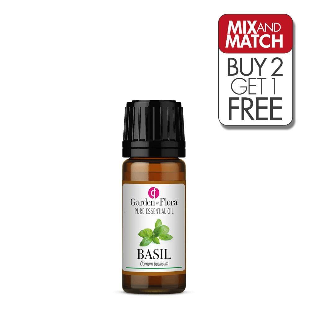 Basil Pure Essential Oil (10ml)