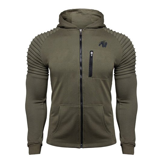 Delta Hoodie, Army Green