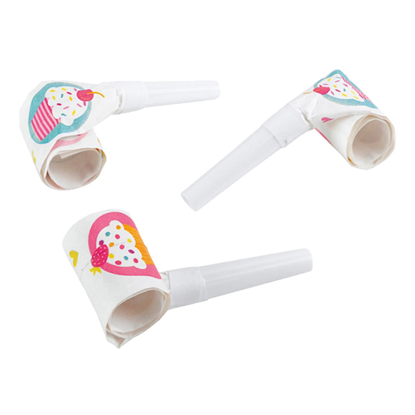 Blåsormar Cupcake - 6-pack