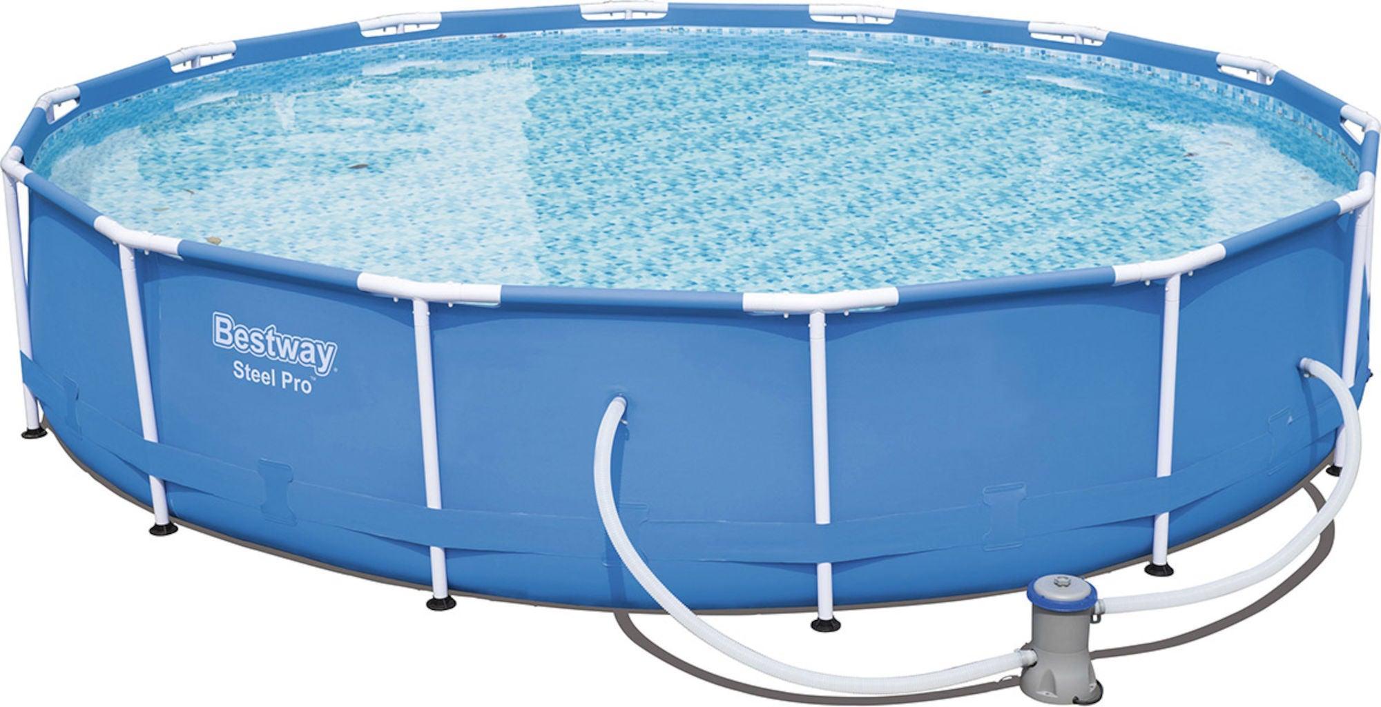 Bestway Steel Pro Pool m. Tillbehör 427 cm