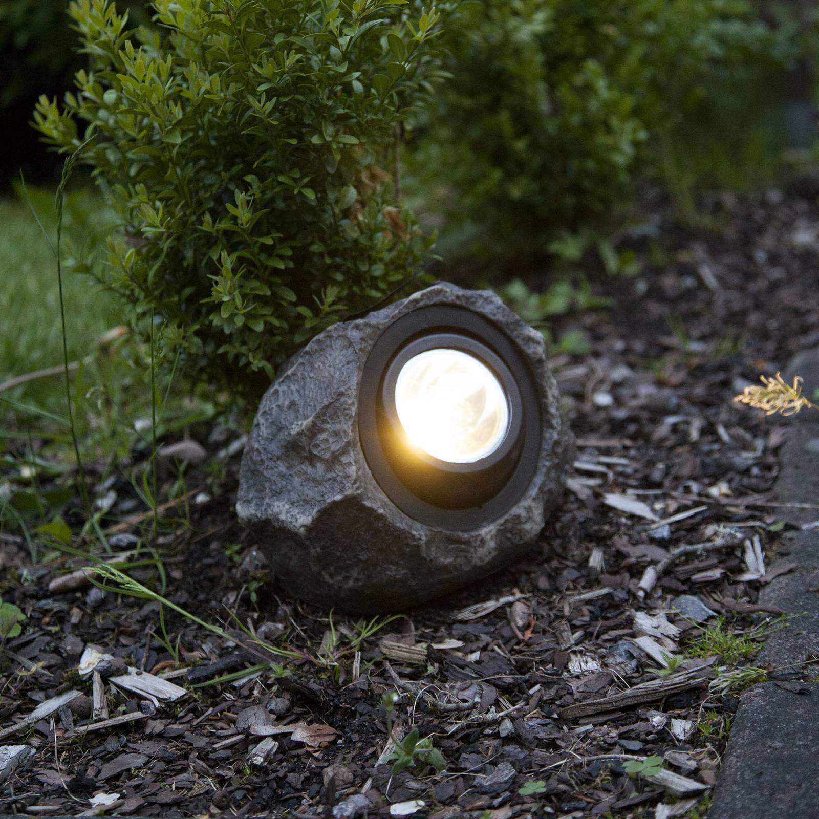 Aurinkokäyttöinen Rocky-LED-valaisin, säädettävä