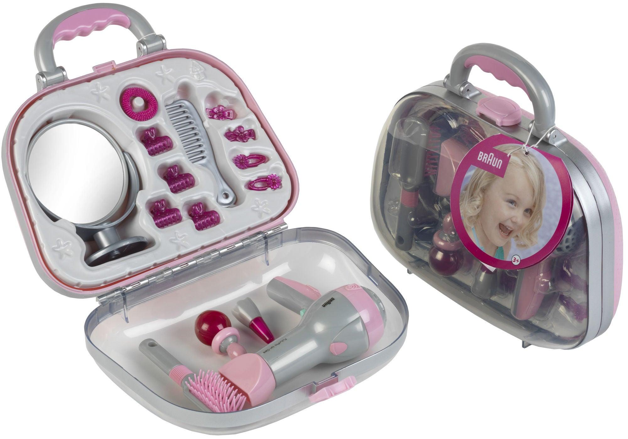Braun Kampauslaukku + Hiustenkuivaaja