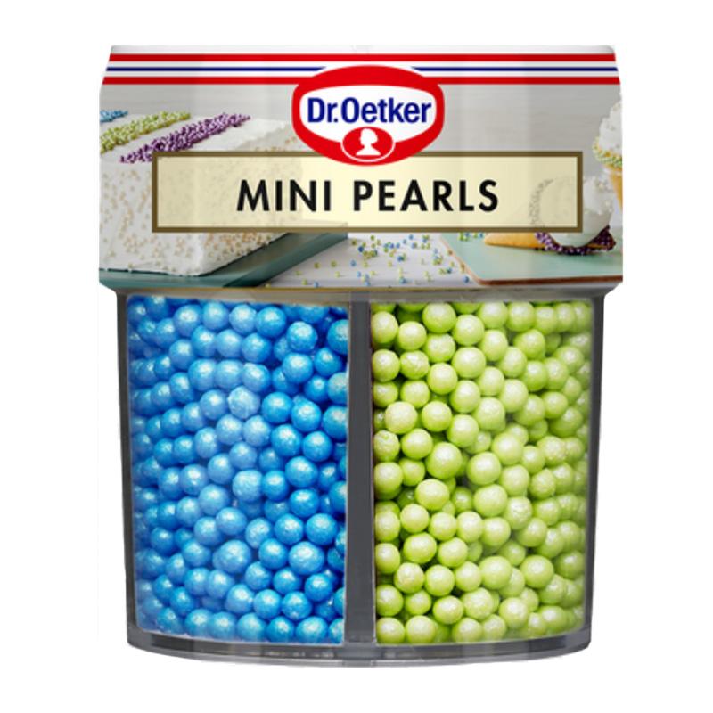 Sockerdekoration Mini Pearls - 76% rabatt