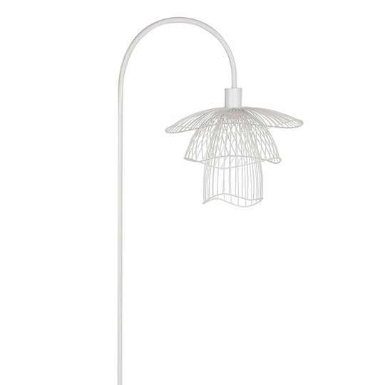 Forestier Papillon XS gulvlampe, hvit