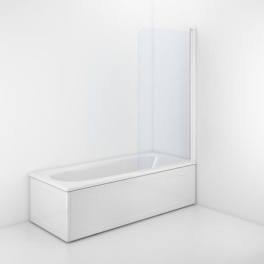 Ifö Space SPXK Kylpyammeen seinä 1400 x 800 mm, läpinäkyvä lasi
