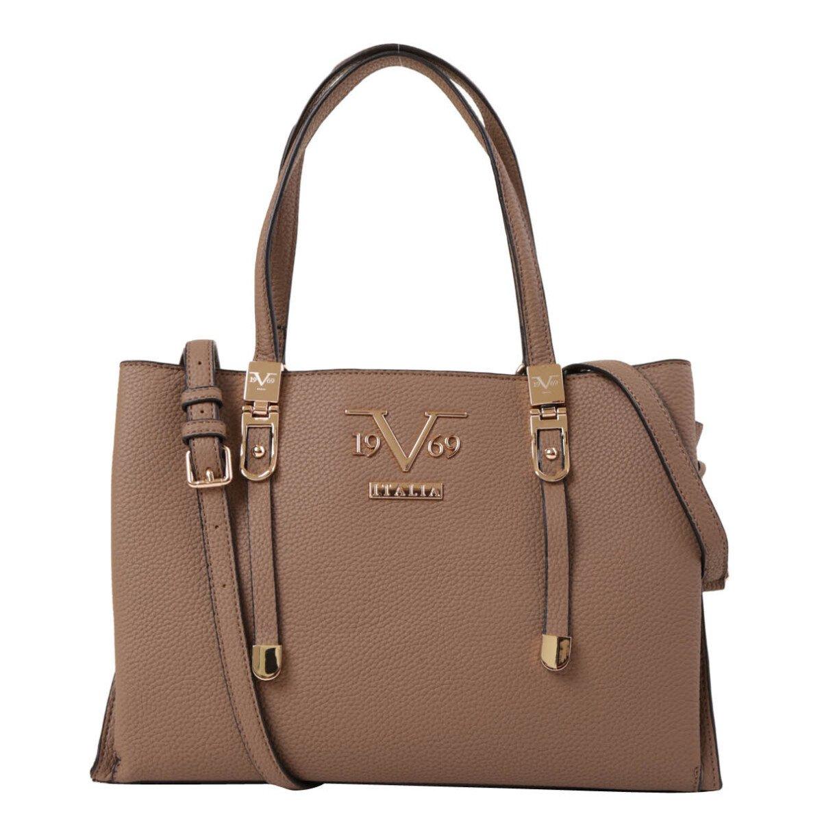 19v69 Italia Women's Handbag Various Colours 318969 - beige UNICA