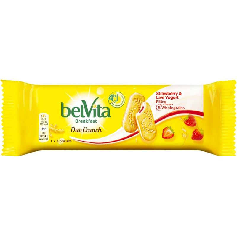 """Keksi """"Strawberry & Yoghurt"""" 50,6 g - 38% alennus"""