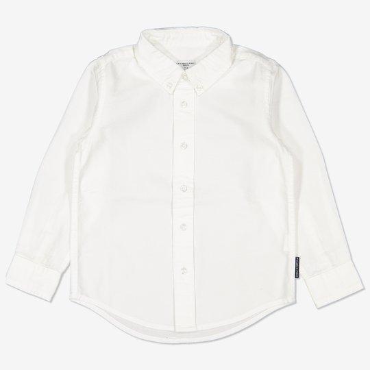Oxfordskjorte hvit
