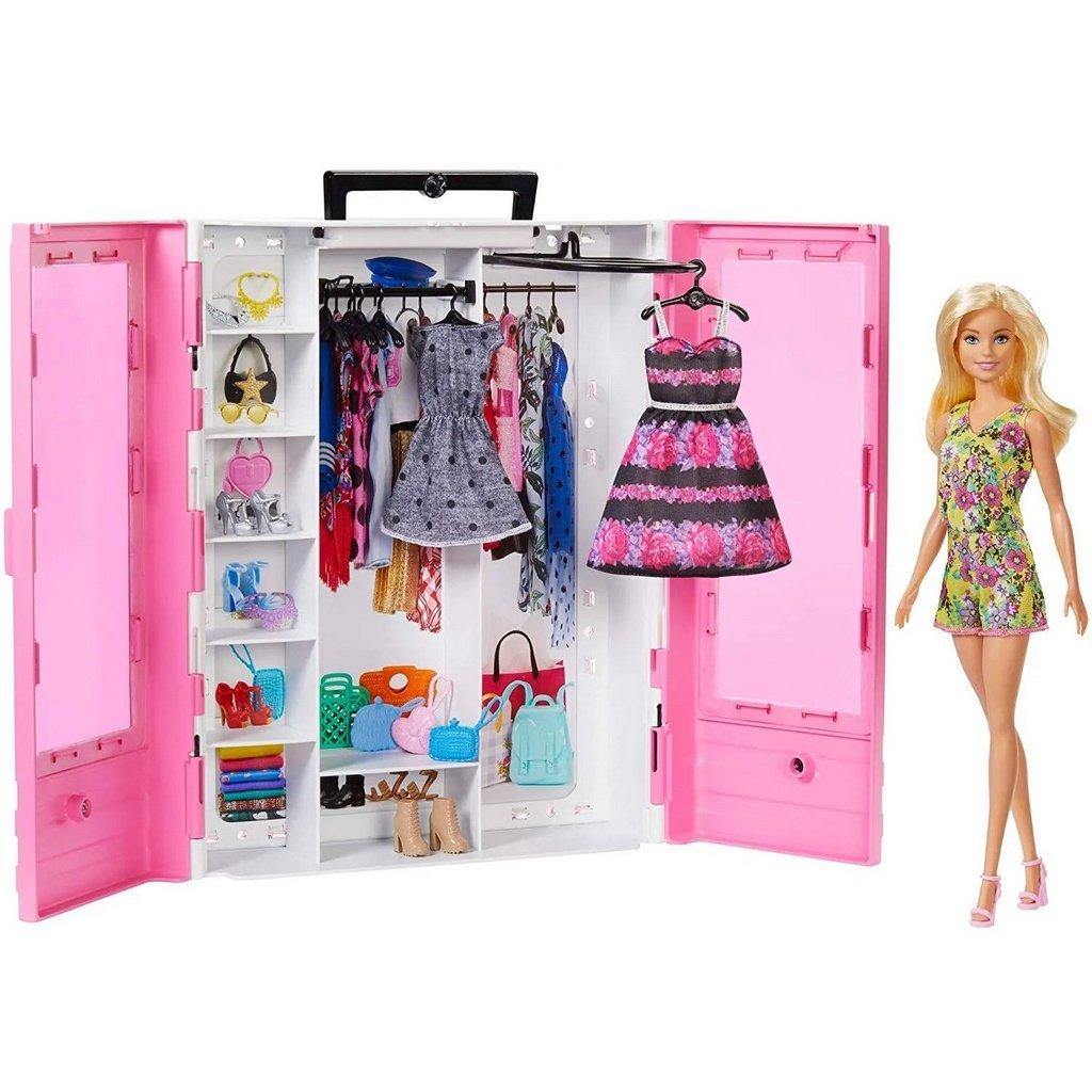 Barbie - Barbie Fashionistas Ultimate Closet Doll and Accessory(GBK12)