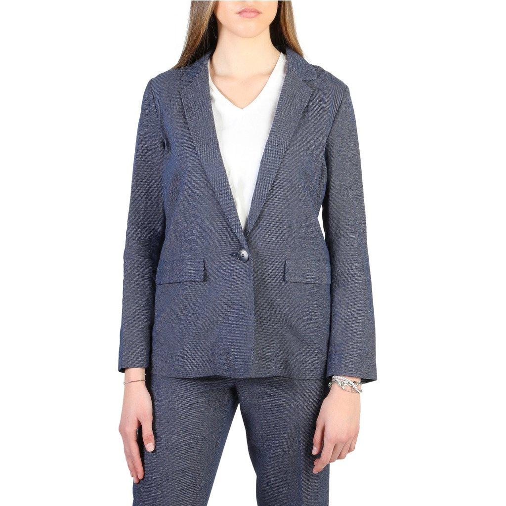 Armani Jeans Women's Blazer Blue 3Y5G42 5NYLZ - blue 40 EU