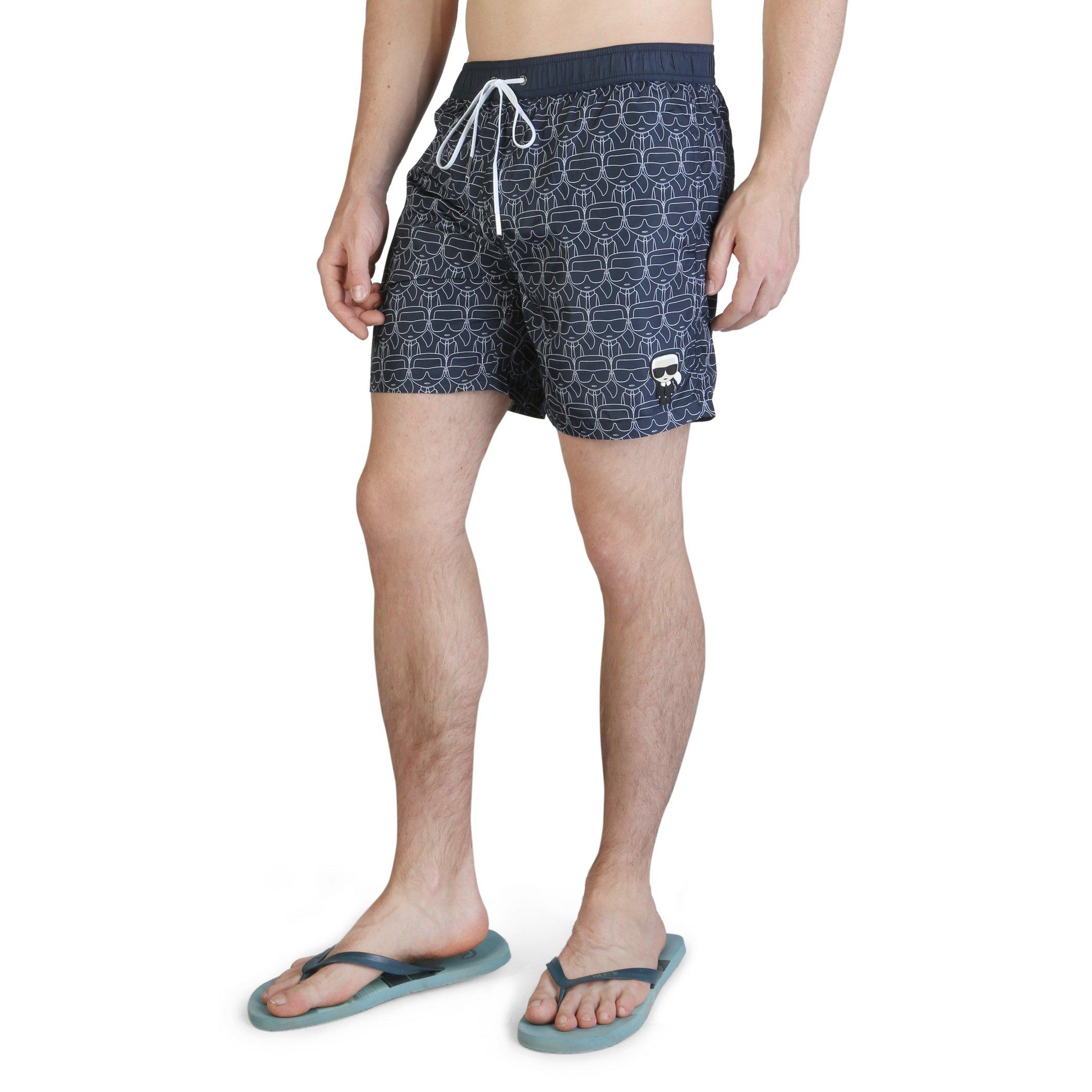 Karl Lagerfeld Men's Swimwear Various Colours KL21MBM12 - blue S