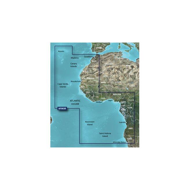 Garmin Western Africa Garmin microSD™/SD™ card: HXAF003R