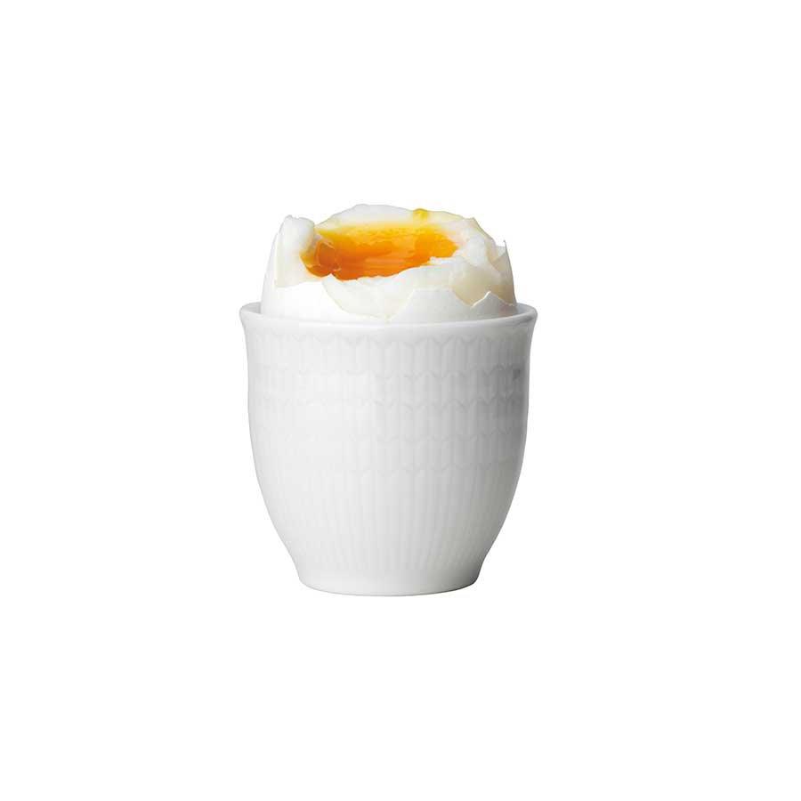 Rörstrand Swedish Grace Snø/Hvit Eggeglass