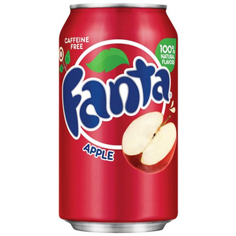 """Fanta """"Apple"""" 355ml - 41% rabatt"""