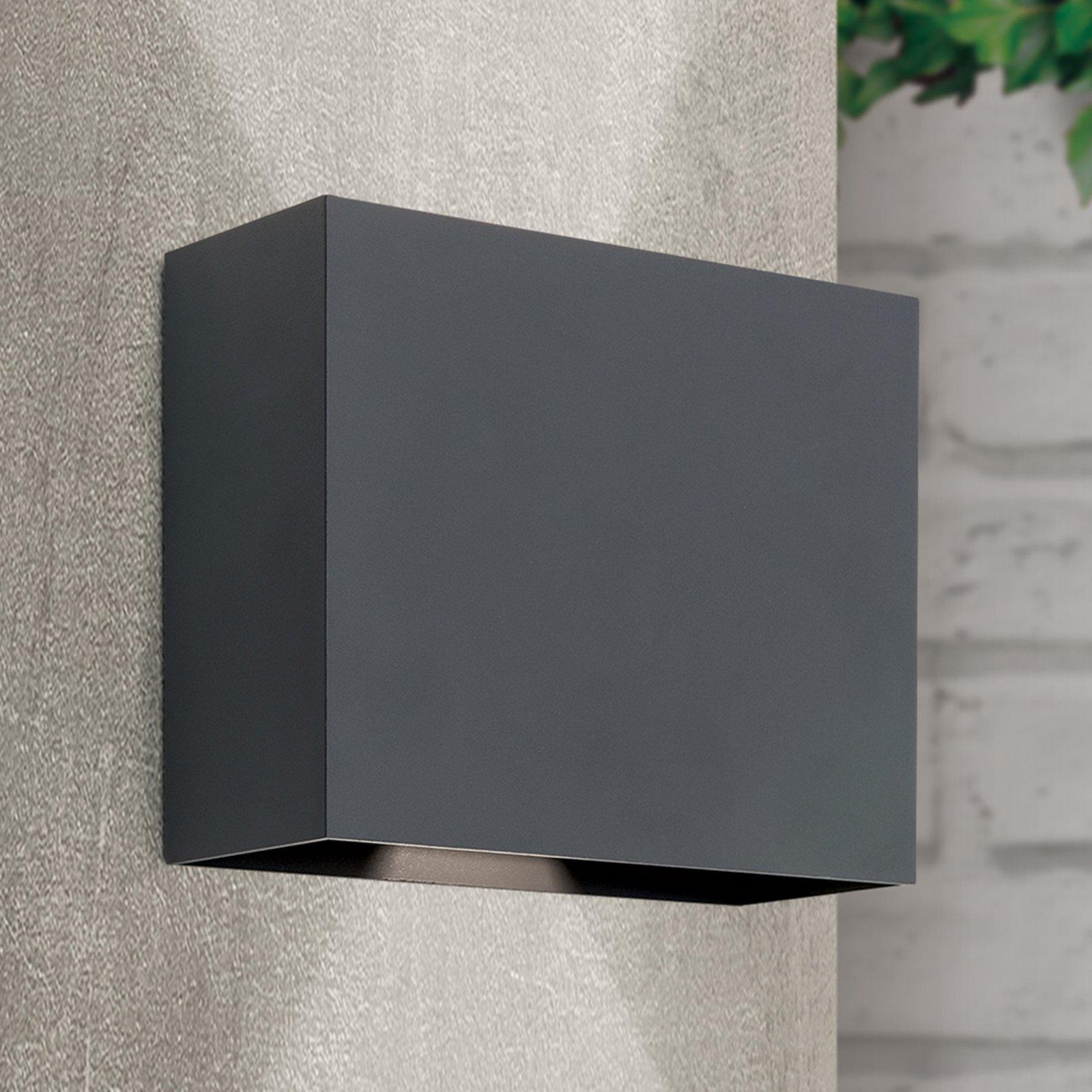 Akzent utendørs LED-vegglampe, justerbar
