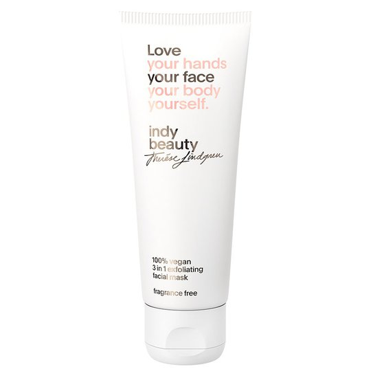 3 in 1 exfoliating facial mask, 75 ml Indy Beauty Kasvonaamiot