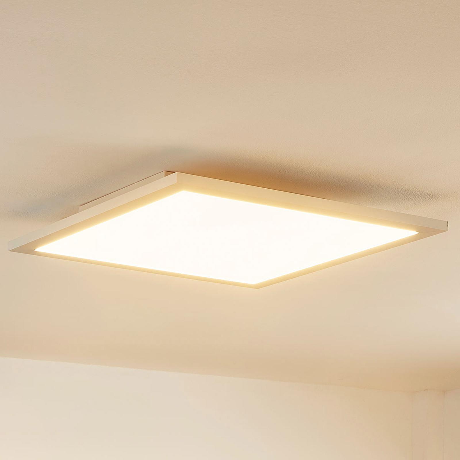 Arcchio Enja -LED-paneeli, 39,5 cm x 39,5 cm