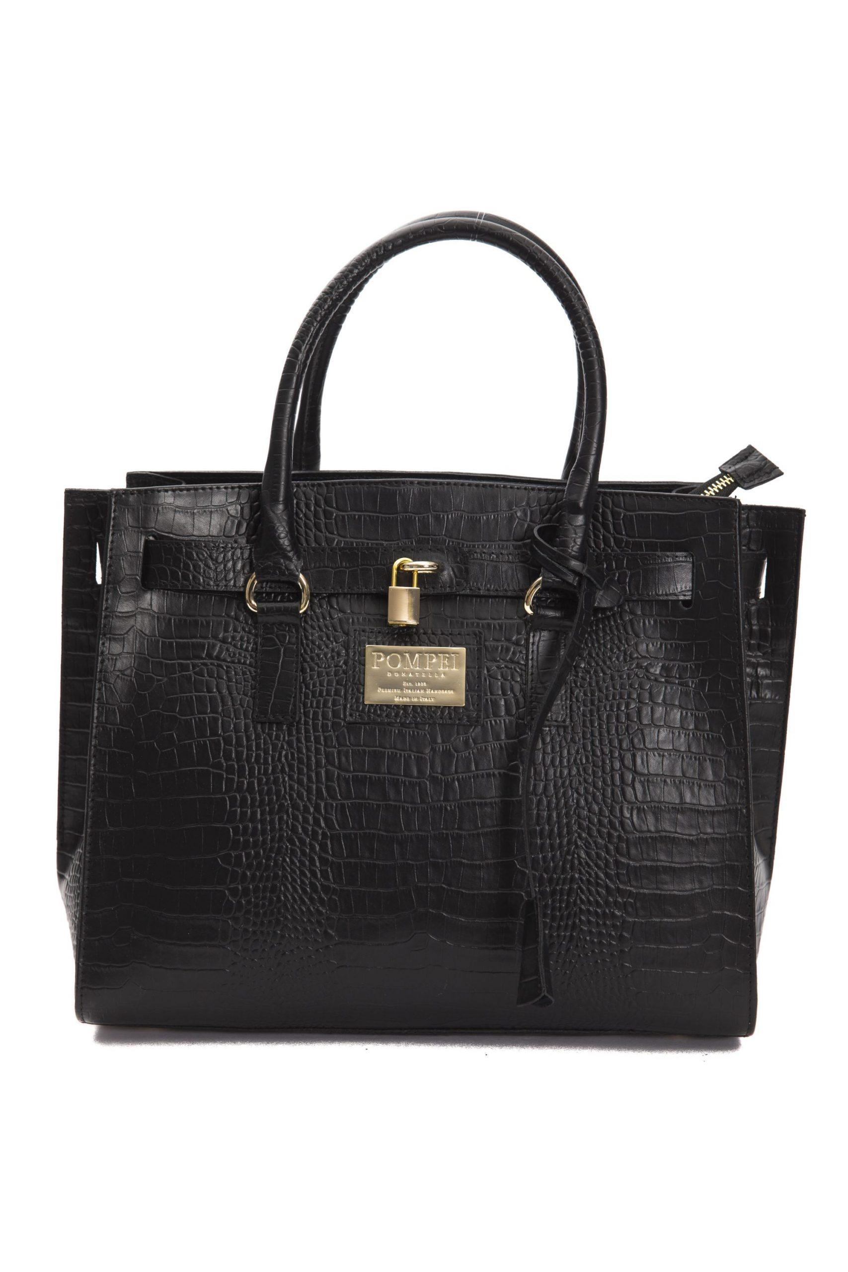 Pompei Donatella Women's Handbag Black PO667706