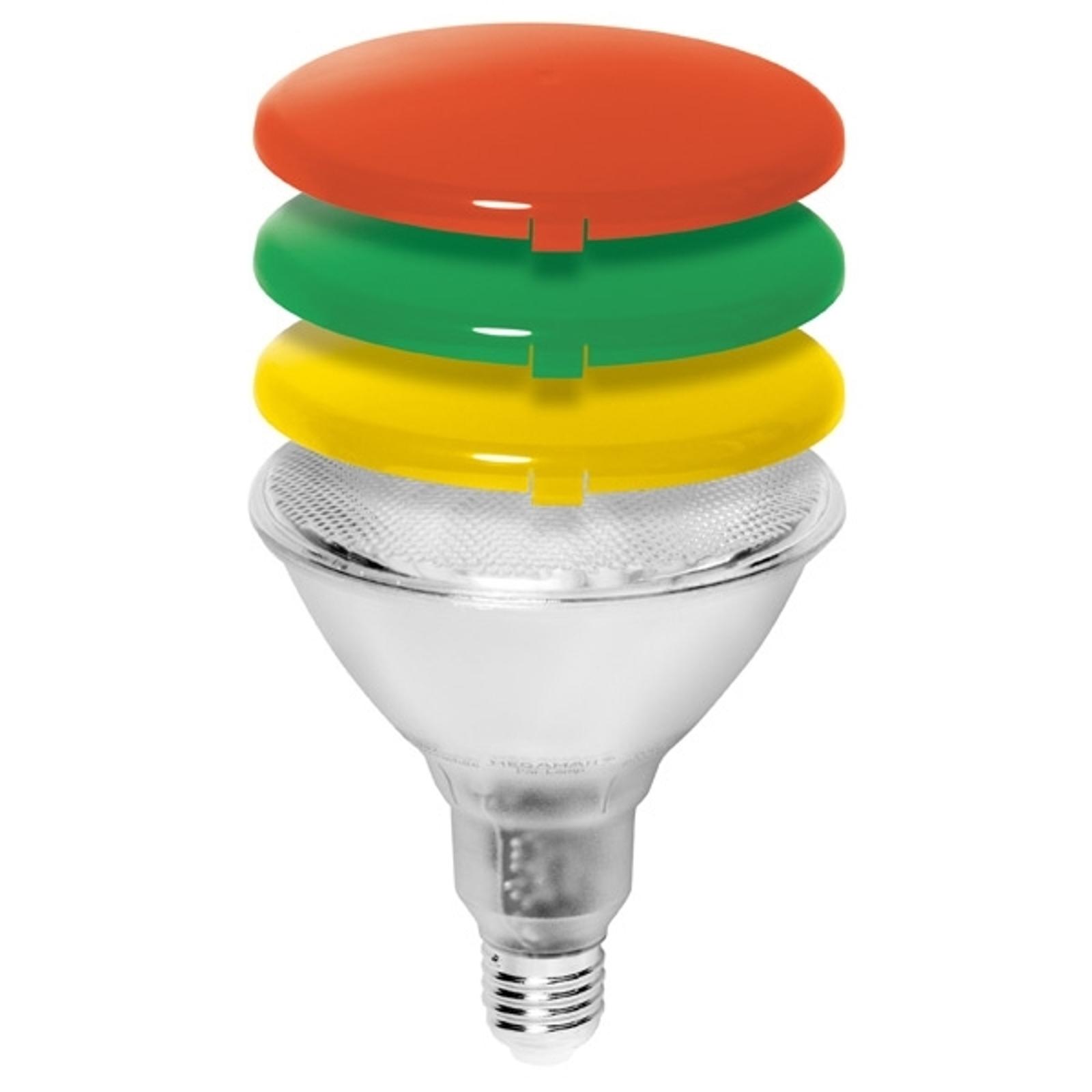 Diffuusoripääty PAR38-energiansäästölampulle
