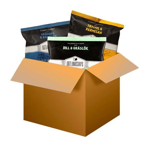 Mini Gotlandschips boxen