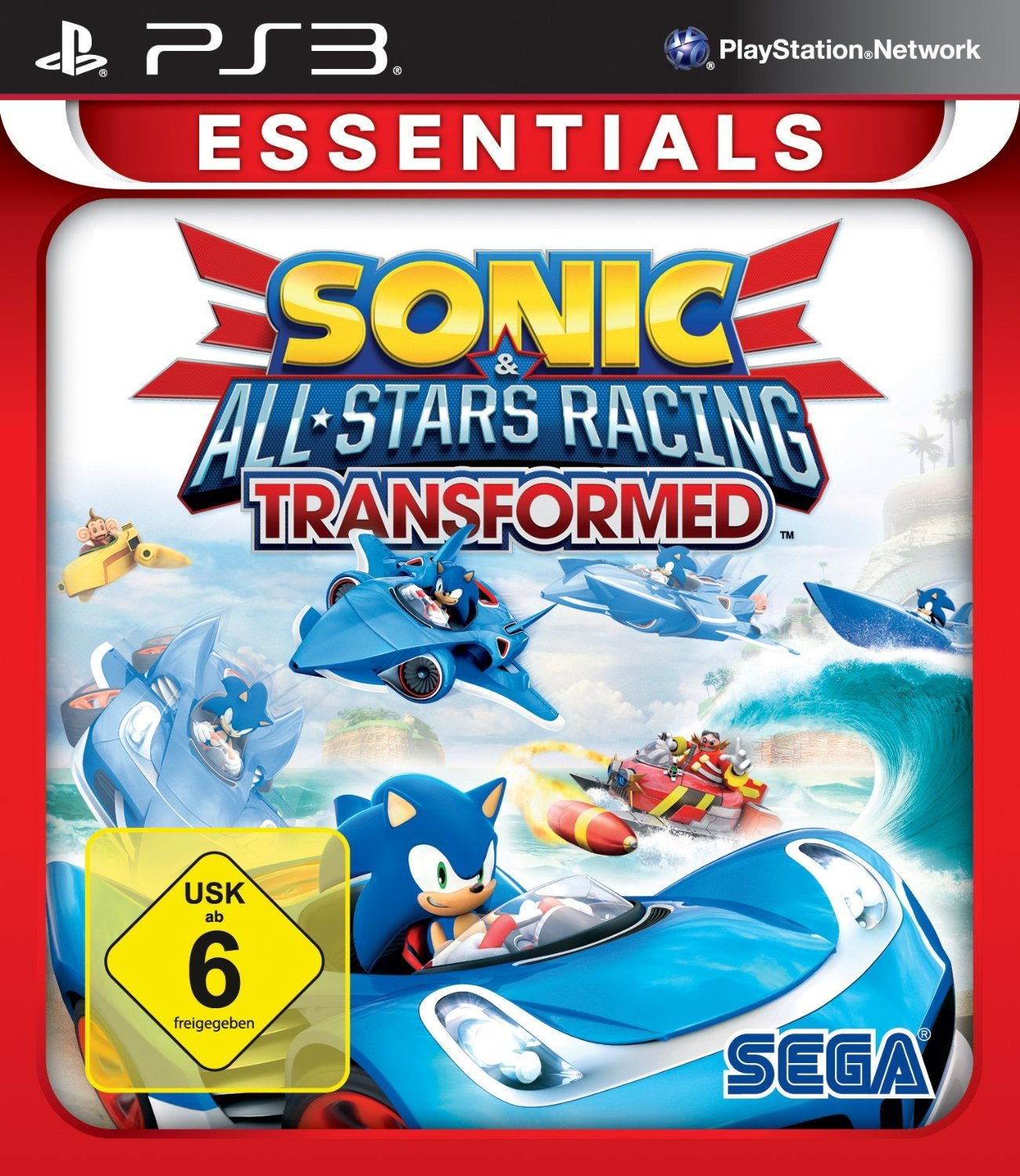 Sonic All-Star Racing: Transformed (Essentials)