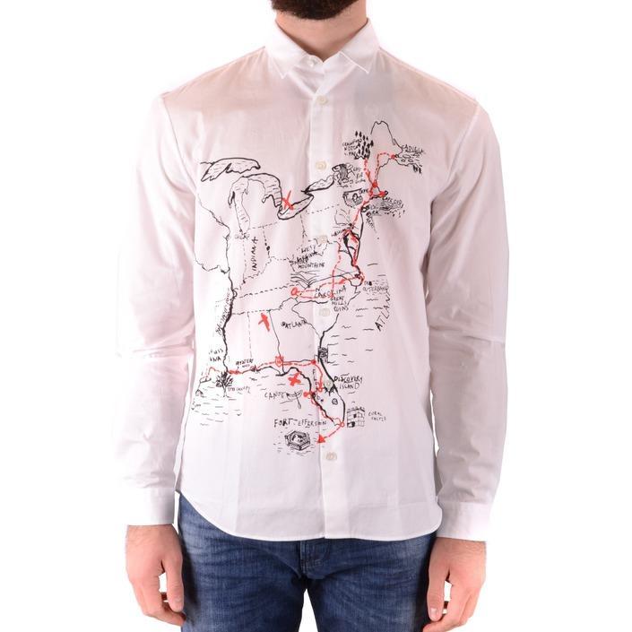Alexander Mcqueen Men's Shirt White 165264 - white 46