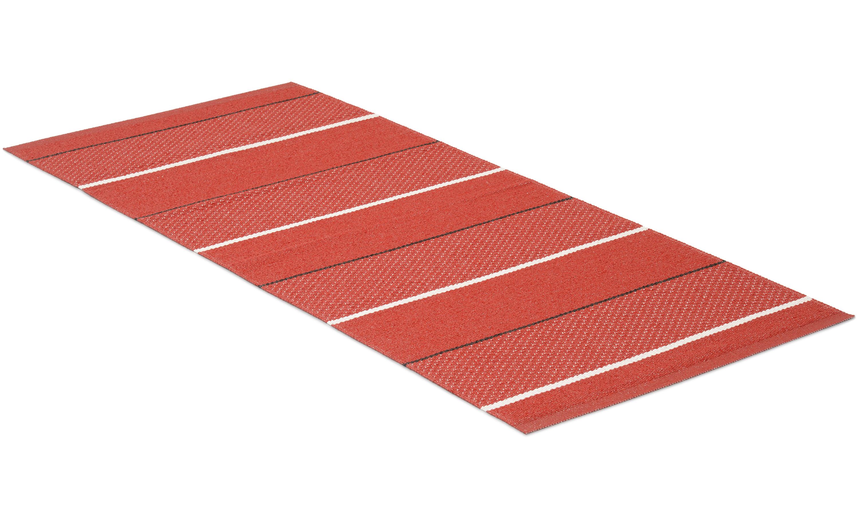 Loke rød - plastteppe