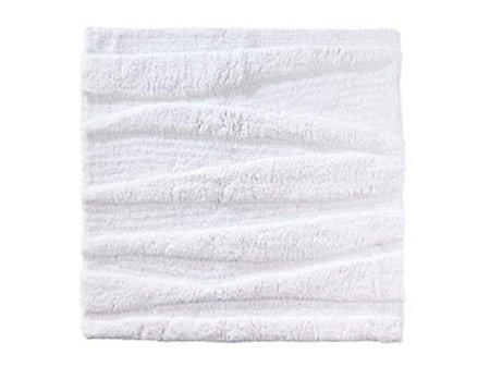Badematte White Flow 65x65cm