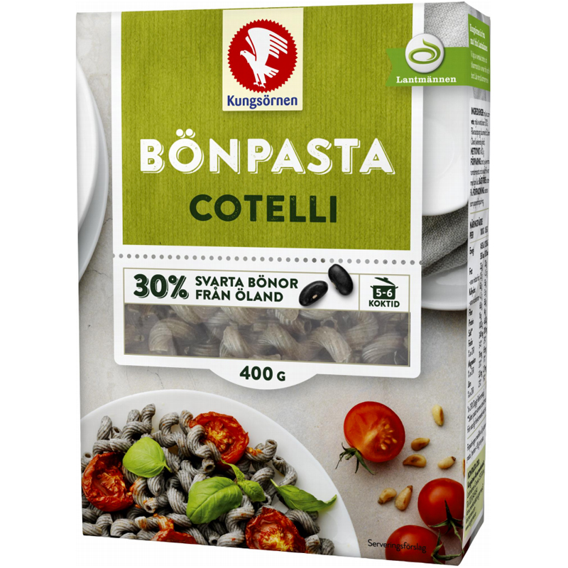 "Papupasta ""Cotelli"" 400 g - 65% alennus"