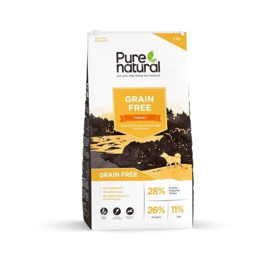 Purenatural Grain Free Kalkon (2 kg)